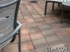 chunky weenie enters anal