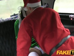 faketaxi bad santa unloads his sack