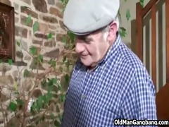 grandad spies on anal sex paramours