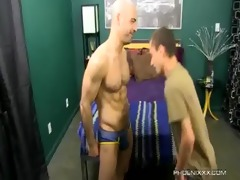 pleasant dad and lewd son fuck with adam russo