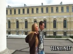 legal age teenager tries her massive pounder ever
