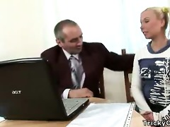 top student acquires awarded with tremendous sex