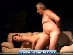 juvenile angel takes old guy dick