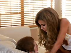 nubile films - gooey facial for miniature legal