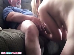 daddy bonks her younger male paramour