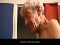 youthful beauty have sex with old chap