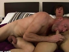 mature lad tasting recent ravishing youthful dong