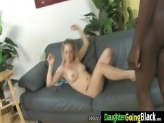 youthful daughter with admirable wazoo fucked by