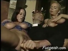 favourable old stud has a way with younger woman