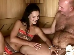 sandra rodriguez receives fucked by grandad