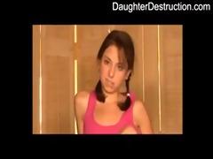 daughter throat and butt destruction