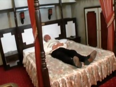 filthy old senior is fucking a cute youthful angel
