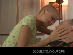 hawt hot blond teen tease to fuck aged boy