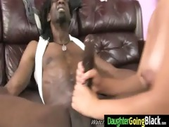 young daughter receives pounded by big black wang