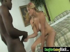 watchung my daughter getting drilled by dark knob