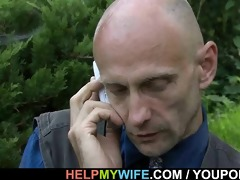 hung guy copulates sexy looking wife