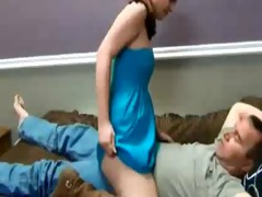 daughter seduces her daddy and receives preggy