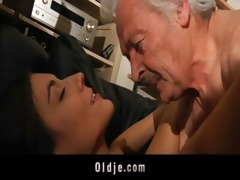 grand-dad fucking concupiscent juvenile sweety