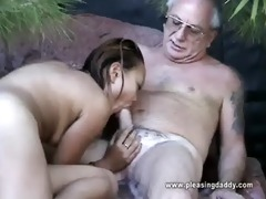 uncle jesse gets his cock sucked by oriental doxy