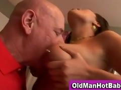 old boy fellatio by hawt younger hottie