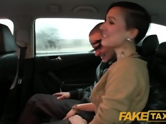 faketaxi i join excited married couple for an