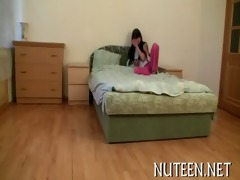 stud nails cute legal age teenager gal