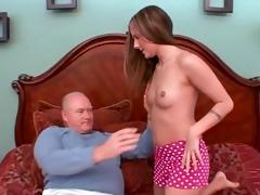 juvenile schoolgirl gived pervert old dude