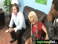 black dick and a diminutive chick 811