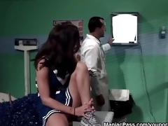 doctor bonks teen cheerleader