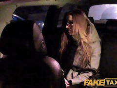 faketaxi gal with glasses copulates for rent cash