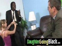 watch how my daughter is drilled by a dark dude 14