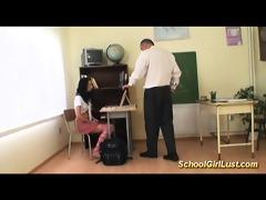 hardcore with nasty schoolgirl