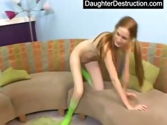 juvenile cutie pounded hard by large dick
