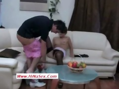 muslim hijab whore screwed by her brother in law-