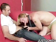 muscle dilf fucks boss
