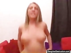 juvenile daughter screwed hard