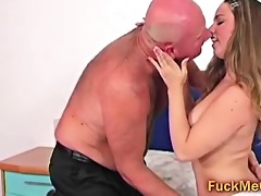 tee hotty blow old obese cock