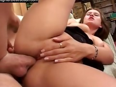 youthful daughter raw screwed in backseat