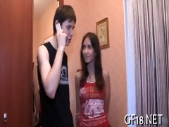 she is plays with big pecker of boy